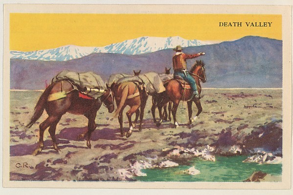 Death Valley, bakery card from the Nature's Splendor series (D39-7), issued by Bell Bakeries, Inc..jpg