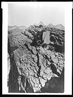 William Henry Jackson and another man with photographic equipment on mountain near Yellowstone Park.jpg